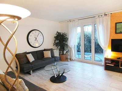 Photo for Apartment in the center of Ascona with Lift, Parking, Washing machine, Pool (46815)