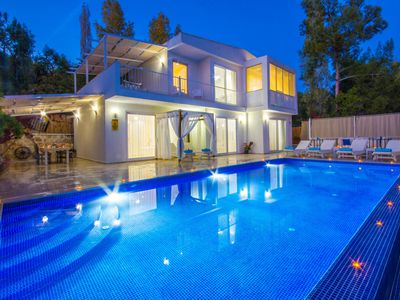 Photo for Romantic Secluded 3 Bedroom Villa with Large Pool, in Peaceful Location
