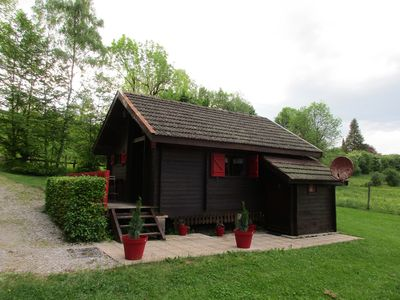 Photo for Detached chalet built on 1 hectare in the countryside in a village in Jura