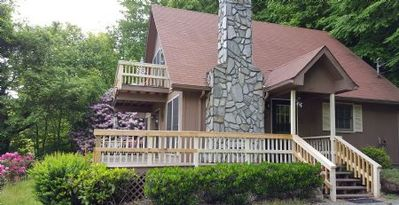 Photo for Once in a Lifetime is a quant chalet in Maggie Valley, hot tub, WiFi, satellite TV