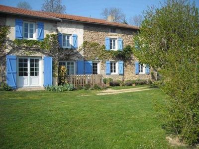 Photo for Gite Saint-Alban-les-Eaux, 6 bedrooms, 10 persons