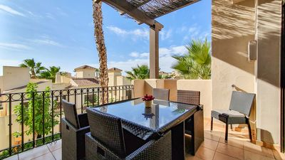 Photo for Roda Golf with roof terrace and a fantastic view of La Manga