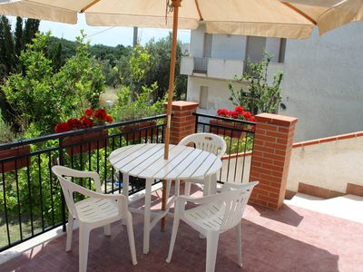Photo for Villa immersed in the greenery between the sea and Majella