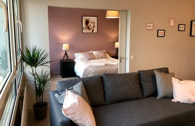 Photo for Lille hypercentre - Apartment 4 people - Parking - La Vie en Rose