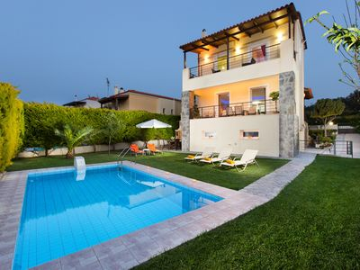Photo for New family villa only 1km away from the beach and everything else you might need
