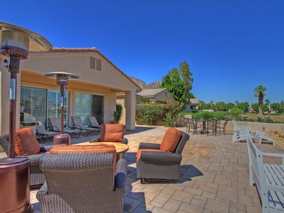 Photo for 107LQ  MAGICAL DESERT OASIS 3 BEDROOM 3.5 BATH IN PGA WEST PALMER PRIVATE