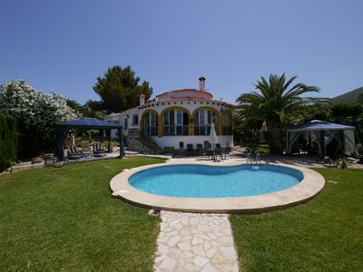 Photo for Beautiful Villa With Private Pool And Fenced Gardens