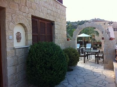 Photo for Stone Villa with Private Pool and Panoramic Mountain Vistas