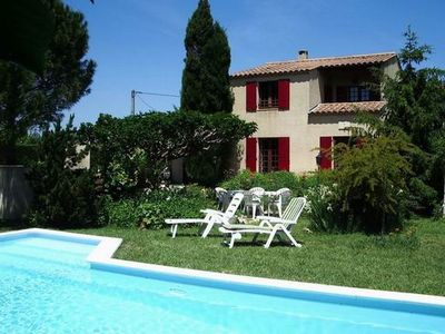 Photo for family home with pool, near Isle sur la Sorgue