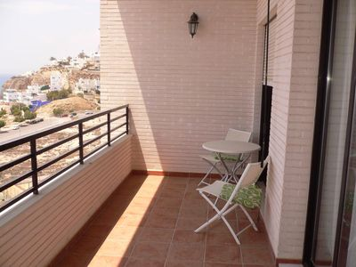 Photo for We rent our beautiful first line apartment on the Costa Blanca