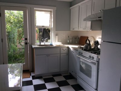 Photo for Charming Family Friendly 2 Br Garden Apartment, Centrally Located!
