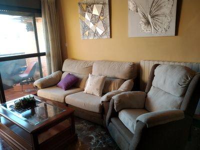 Photo for Apartment very cozy and well located. Next to bus station