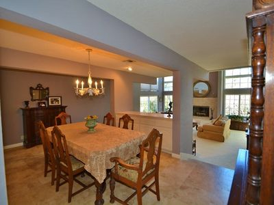 Formal dining area, perfect for special occasions