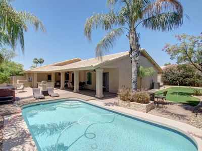 Photo for Relaxing Kierland area Home:WiFi,Pool,Putting Green,BBQ