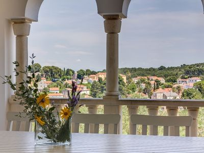 Photo for Spacious apartment Alma in Veli Losinj with WiFi, air conditioning, private terrace and parking place...