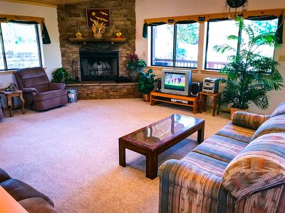 Photo for Sierra Sunrise, the name says it all. Four bedroom three bath vacation home.