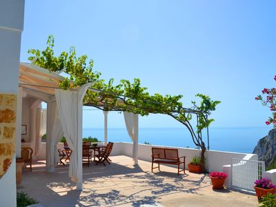 Photo for Villa Sonia overlooking the sea
