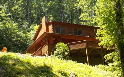 Photo for Beautiful 7 Br Log Cabin Located In Smoky Mtns