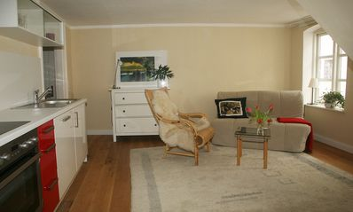 Photo for modern, central in d. Old town, quiet area, incl. Parking, Wi-Fi