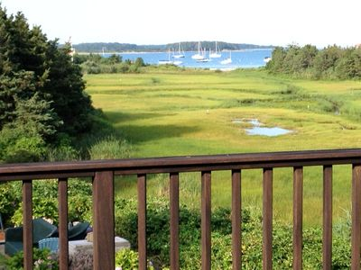 Photo for GREAT LOCATION! AMAZING VIEW! Short walk to Private Beach on Lewis Bay, Yarmouth
