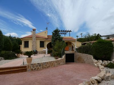Photo for Super Villa Oriola with private swimming pool in lovely Spanish garden