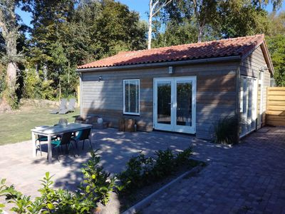 Photo for New 2018 holiday home Veere spacious garden, complete privacy, sauna and fitness