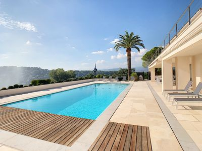 Photo for Superb Villa californienne see view panoramique a mougins !