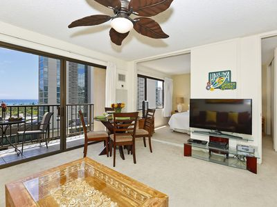 Photo for Comfort AND Convenience with Partial Ocean View!