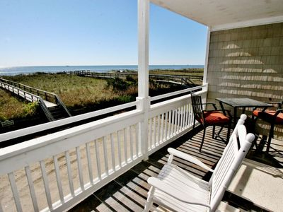 Photo for Across from the Lake in Carolina Beach, 1st Floor Condo Oceanfront, Five Blocks from Downtown Car...