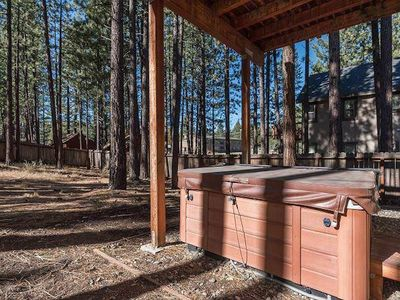 Photo for Private House with Hot Tub, BBQ, Backyard (2 miles to Heavenly)
