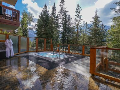 Photo for Rocky Mountain Luxury | Private Balcony + Shared Outdoor Hot Tub