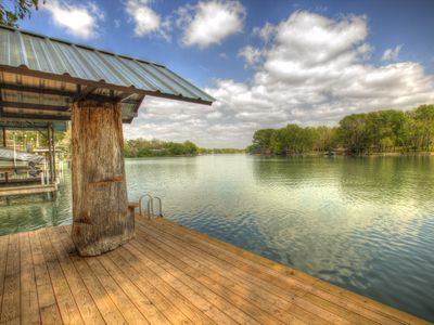 Photo for BEAUTIFUL WATERFRONT HOME ON LAKE DUNLAP!  APRIL & MAY DATES STILL AVAILABLE!!