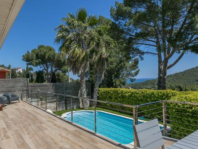 Photo for 3 bedroom villa in Sa Riera, Begur. With sea views, private pool and terrace (Ref:H06)