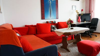 Photo for 44m²/473.61ft² four person apartment with balcony