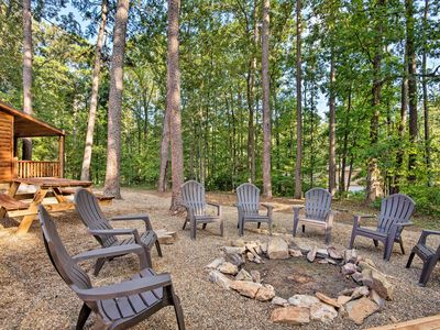 Photo for Cabin w/ Hot Tub & Grill - 6 Mi to Broken Bow Lake