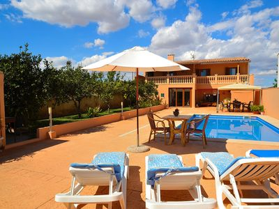 Photo for Can Ferragut villa 500 metres from the beach 517