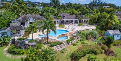 Sunwatch, 6 bd. villa directly overlooking Barbados' west coast and the Caribbean sea
