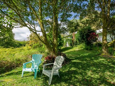 Photo for Gorgeous retreat on 3 lush landscaped acres above Hilo Town.