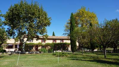 Photo for Central part of a Provençal Mas in the Aix countryside