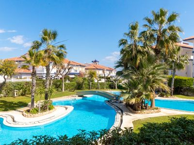 Photo for [ER-112] Penthouse Studio with Sea and Pool View 400m from the beach of La Mata
