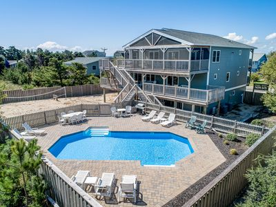 Photo for Cabana Royale | 520 ft from the beach | Private Pool