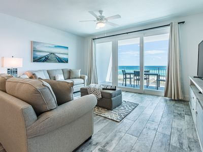 Photo for Stunning Gulf Front Condo, Top-of-the-line Features, Quick Drive to Entertainment