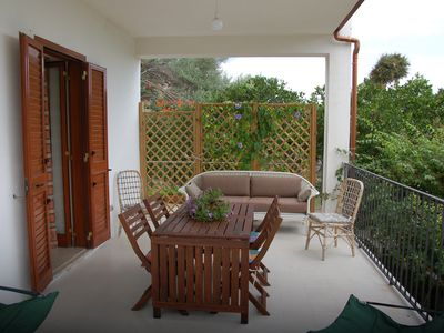 Photo for House with garden and direct access to the Tyrrhenian Sea