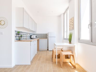 Photo for Mr Design Blancarde cozy new in the heart of a lively district of Marseille 1 BDR 4Pax
