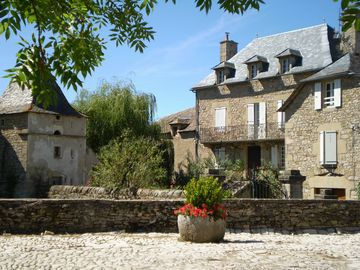 Le Gite du Pigonnier remains quiet spacious character