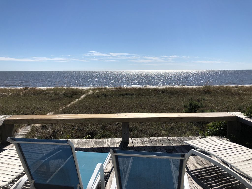 Alligator Point House Rental   View From Deck Good Looking
