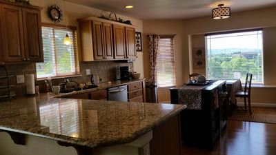 Eat in area of kitchen showing view of Mt Herman & Palmer Lake w/no obstructions