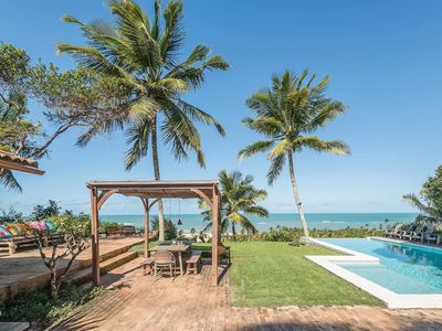 Photo for Bah021-Luxury beach house with private pool in Trancoso