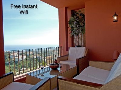 Photo for Apartment With Sea Views In Tranquil Location