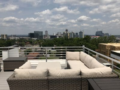 Photo for Contemporary Jewel with rooftop patio, 3 Blocks off the Gulch